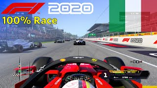 F1 2020 - 100% Race at Monza, Italy in Vettel's Ferrari