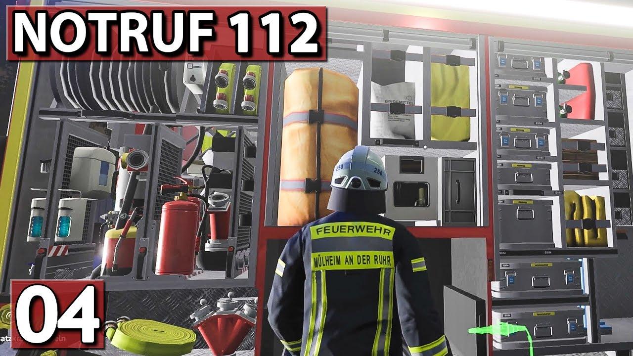 UNFALL bei NACHT ▻ NOTRUF 112 #04 ▻ Feuerwehr Simulation - YouTube