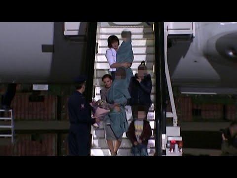 В Москву прилетели четверо российских детей, родители которых воевали в Сирии на стороне террористов