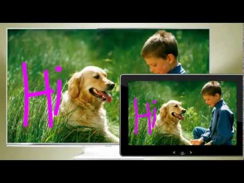 Panasonic VIERA Swipe and Share 2.0 Technology