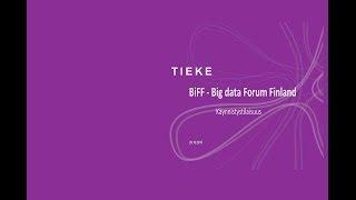 OSA 2. Big Data Forum Finland avaustilaisuus 29.10.2015