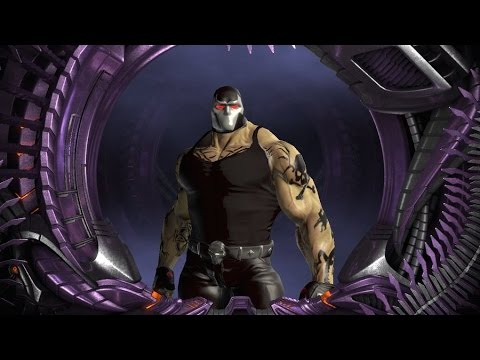 DC Universe Online - ME vs BANE (BOSS fight) with help of Killer croc