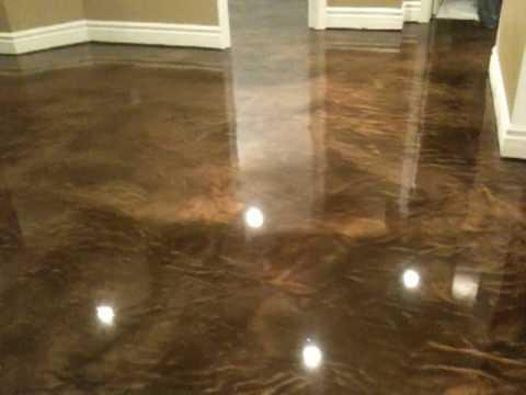 Custom Basement Flooring Elite Crete Systems Reflector