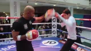 AND THE NEW! - CAN GAVIN McDONNELL BECOME WBC WORLD CHAMPION? / PAD WORKOUT WITH DAVE COLDWELL