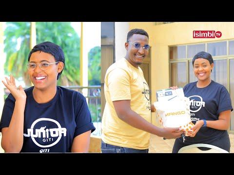 Junior Giti ATUNGUYE Claire|Amuhaye impano idasanzwe|Byamurenze|Ahishuye Fiancé w'uyu mukobwa