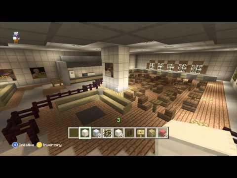 Minecraft Hockey Arena | The United Center