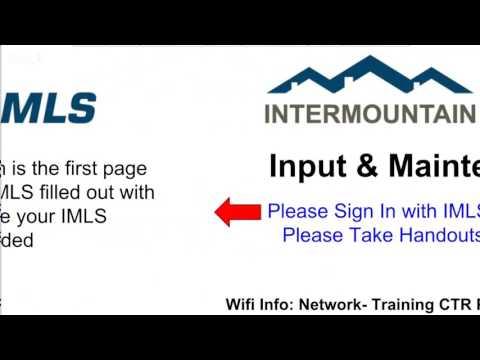 IMLS Input & Maintenance