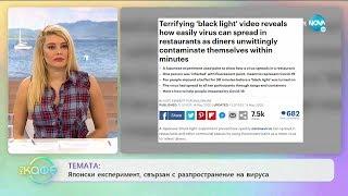 """Японски експеримент, свързан с разпространение на вируса - """"На кафе"""" (18.05.2020)"""