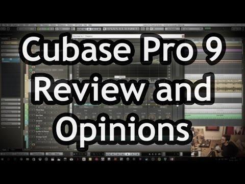 Cubase Pro 9 - Review, New Features & Live Demo