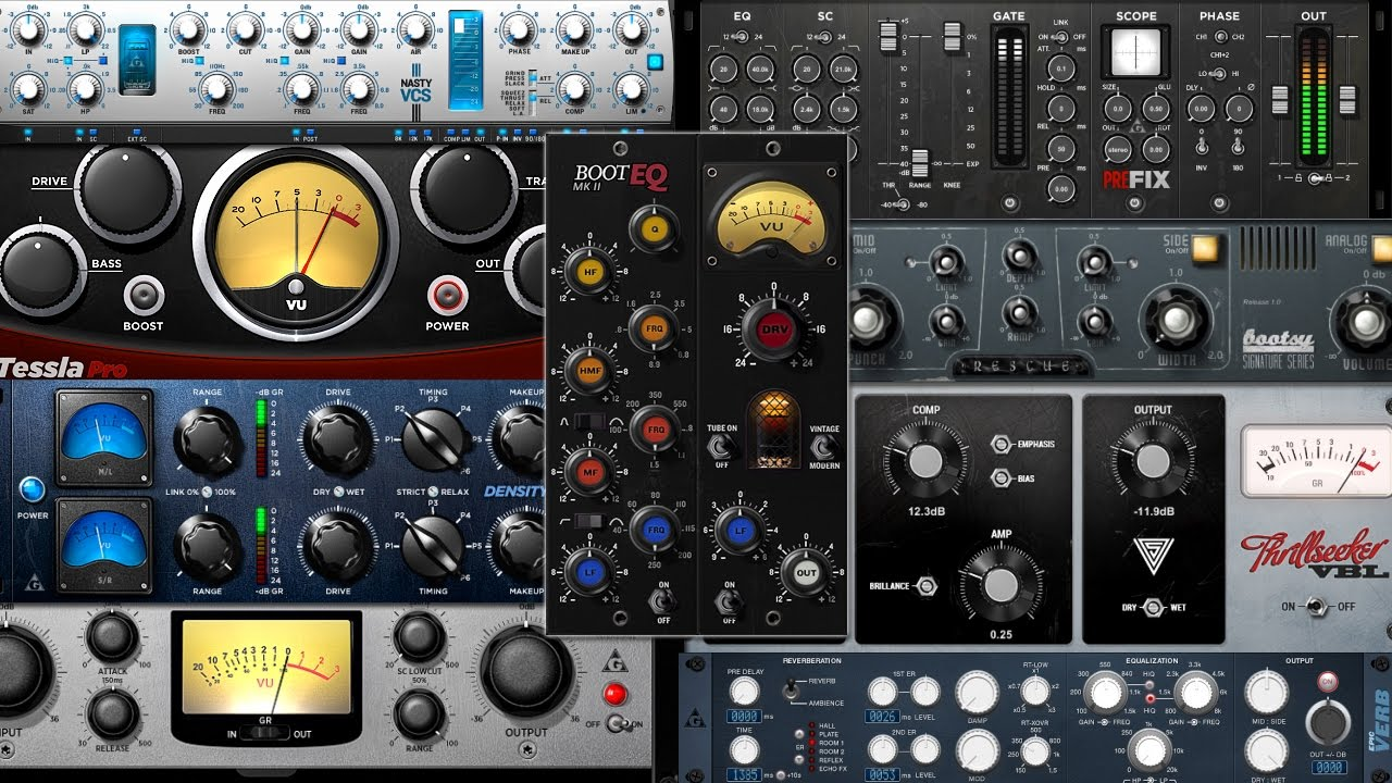 Free VST Plugins : 14 World Class VST Plugins in 1 Bundle (Download Link In  Description)