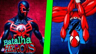 Minecraft : SPIDER-MAN DO FUTURO vs CLONE DO SPIDER-MAN - BATALHA DE HERÓI