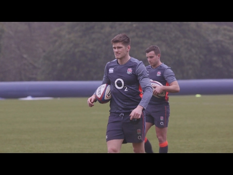England Rugby Team Train Ahead Of Six Nations