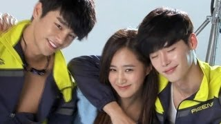Girls' Generation Yuri with Seo In-guk and Lee Jong-suk on 'No Brea...
