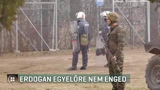 Erdogan: menekültek tízezrei indulhattak el Európa felé Törökországból 20-02-29