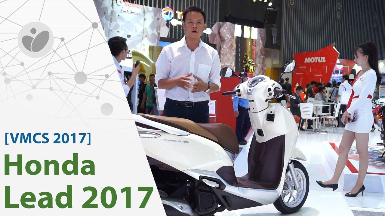 VMCS 2017 | Honda nâng cấp LEAD 2017: gọn gàng, thêm Smartkey, tháng 8 bán | Xe.tinhte.vn