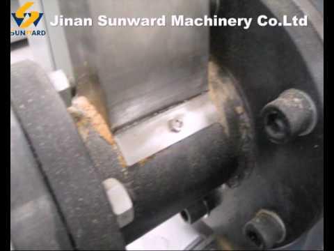single screw extruder small capacity fish feed machine