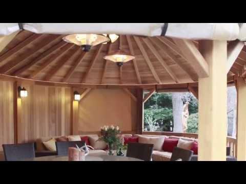 The Worlds Most Luxurious Cedar Gazebos, Kensington Garden Rooms