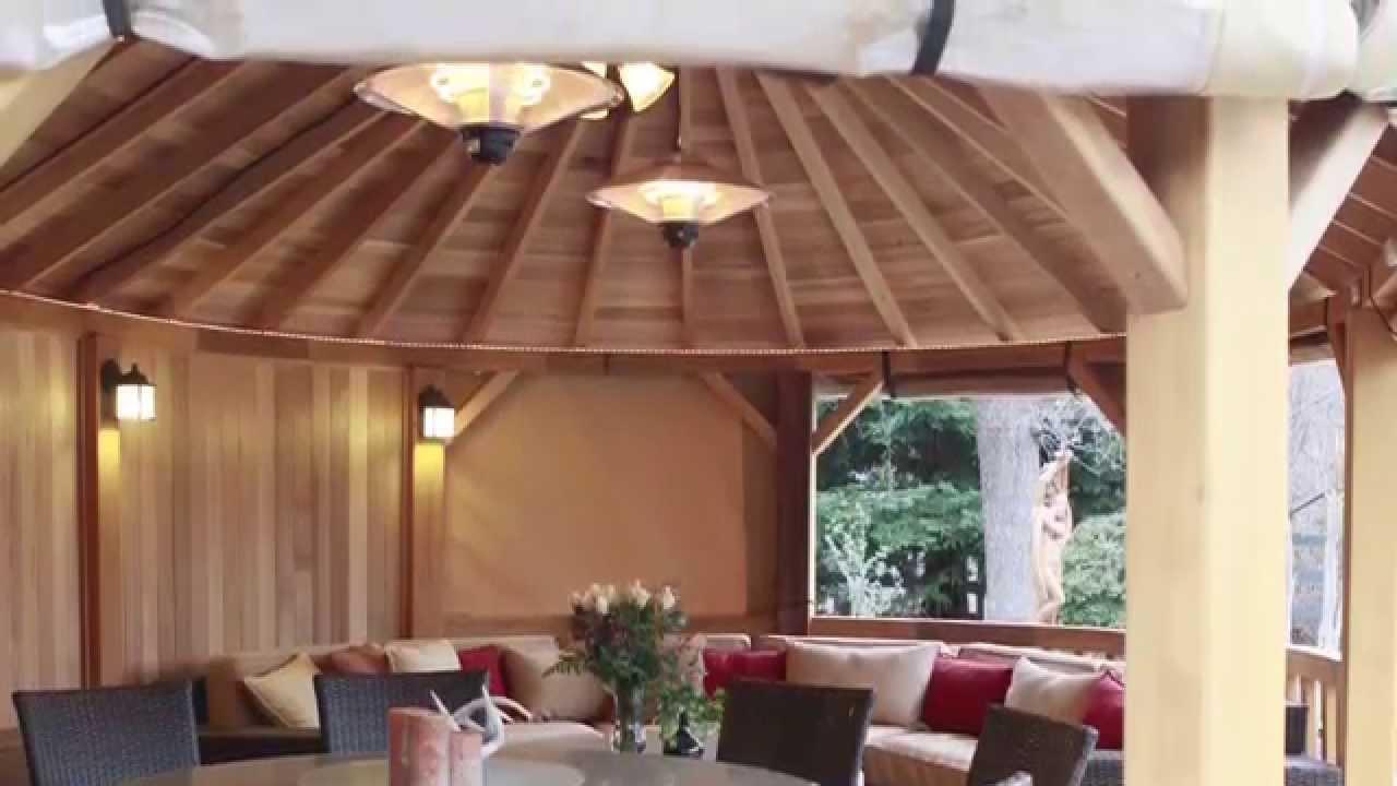 The Worlds Most Luxurious Cedar Gazebos, Kensington Garden Rooms ...