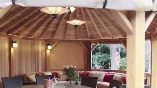 The Worlds Most Luxurious Cedar Gazebos, Kensington Garden Rooms.