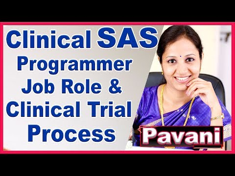 SAS Programming Tutorials For Beginners   CLINICAL Programming   CDISC Introduction   By Pavani