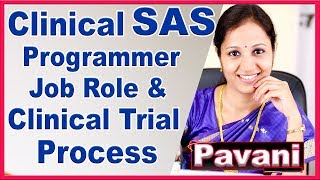 SAS Programming Tutorials For Beginners | CLINICAL Programming | CDISC Introduction | By Pavani