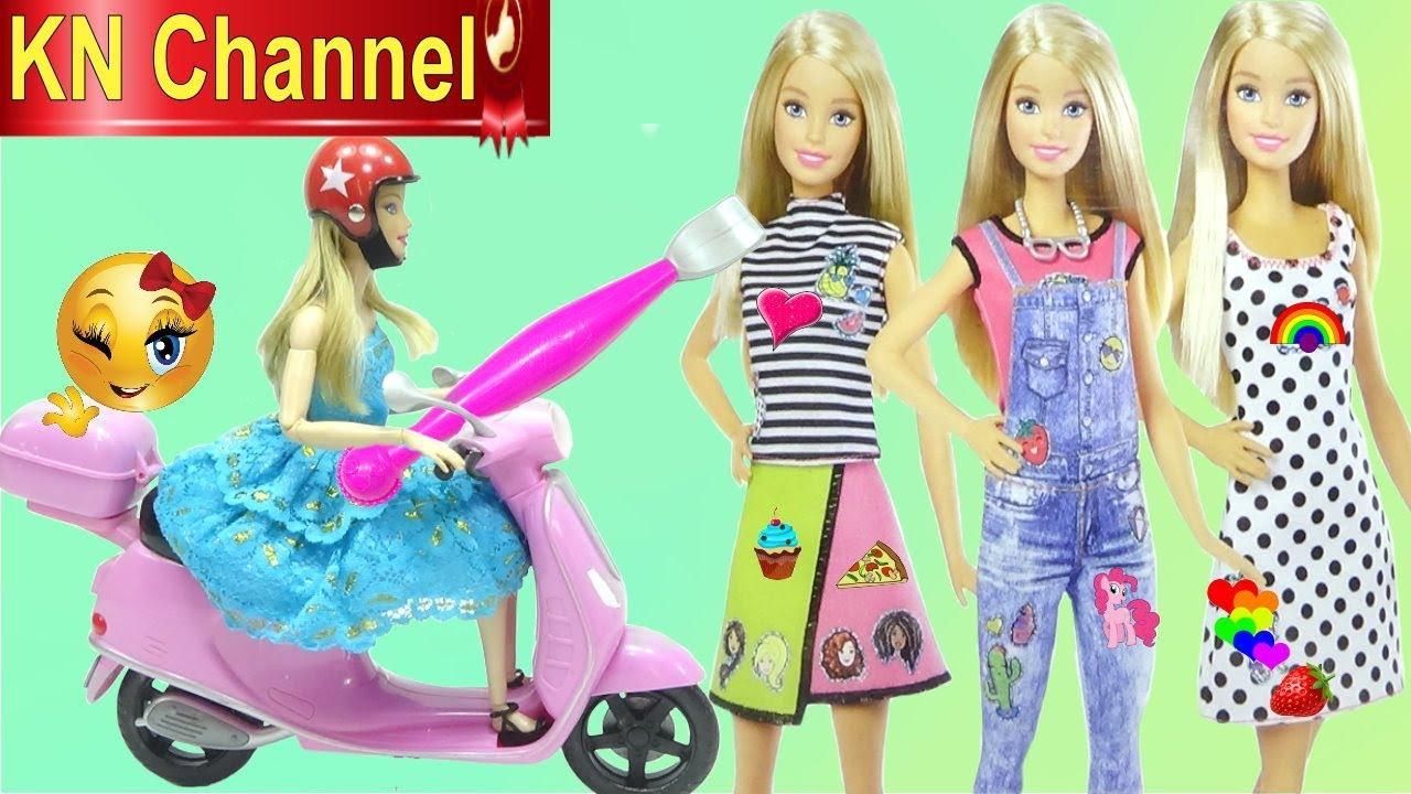 Đồ chơi trẻ em BÚP BÊ BARBIE THIẾT KẾ THỜI TRANG KHÔNG ĐỤNG HÀNG THEO CÁCH ĐƠN GIẢN NHẤT | Tổng hợp bài viết liên quan đến thời trang