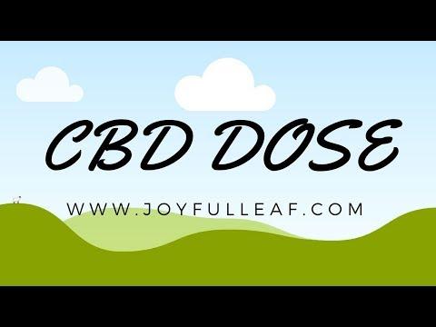 CBD Dose or Dosing Where to buy CBD oil in Knoxville Nashville TN