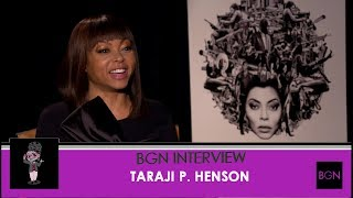 Taraji P. Henson Talks Proud Mary
