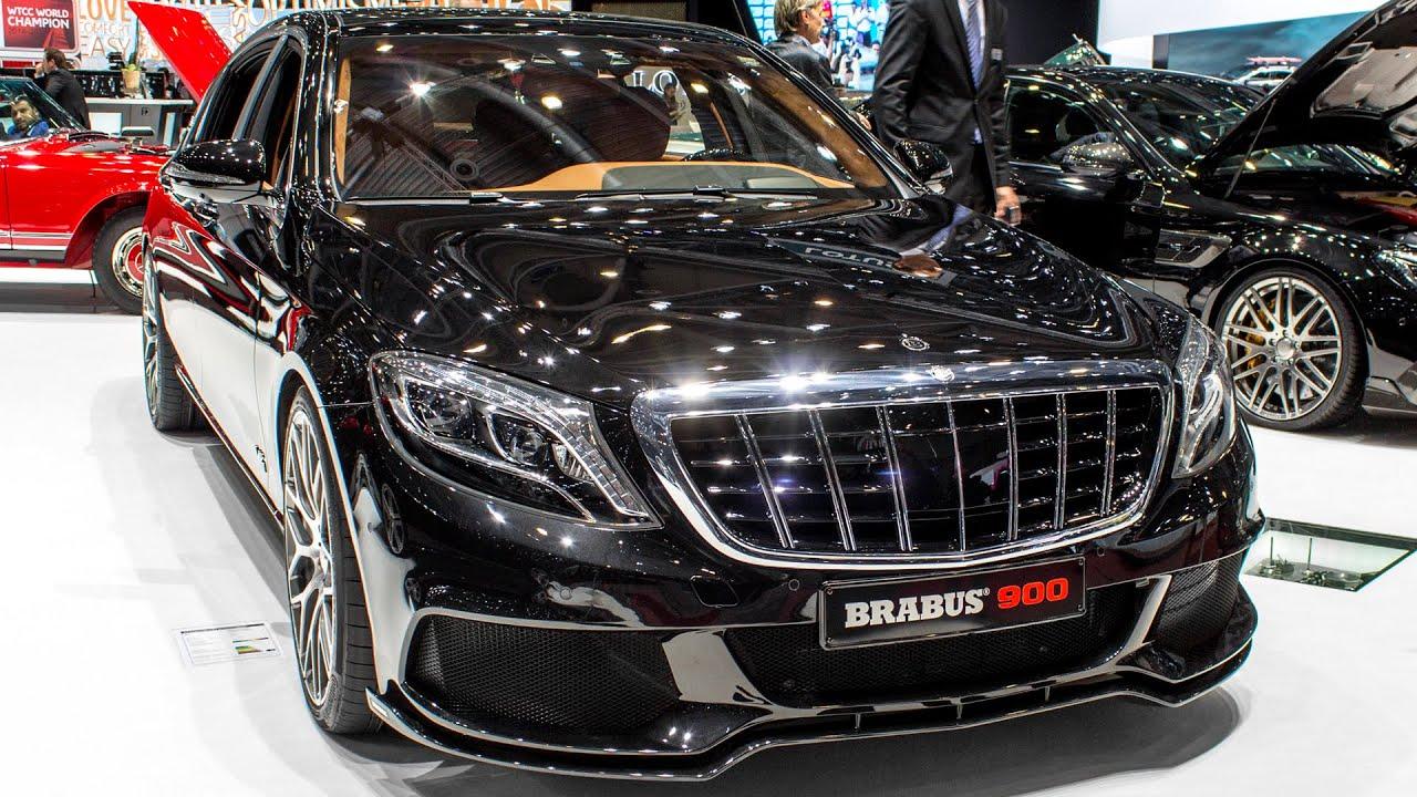 Brabus 900 Mercedes Maybach S600 Geneva Motor Show 2016