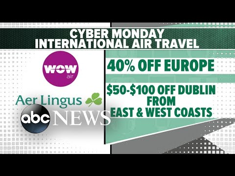 The best can't-miss Cyber Monday travel deals