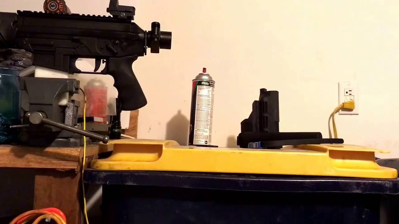 $20 folding stock adapter utg model 47 install on sig p556