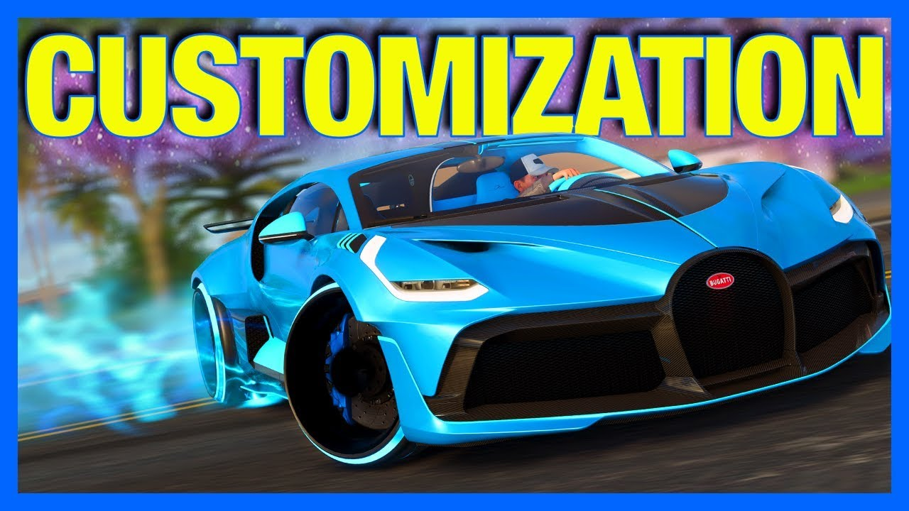 The Crew 2 New Customization Gameplay Bugatti Divo