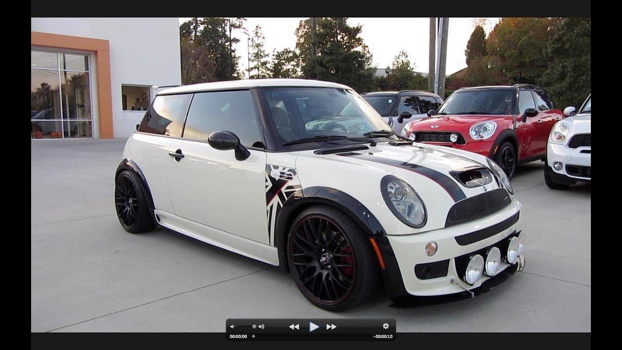 2006 Mini Cooper S Custom JCW Start Up Exhaust and In Depth Tour