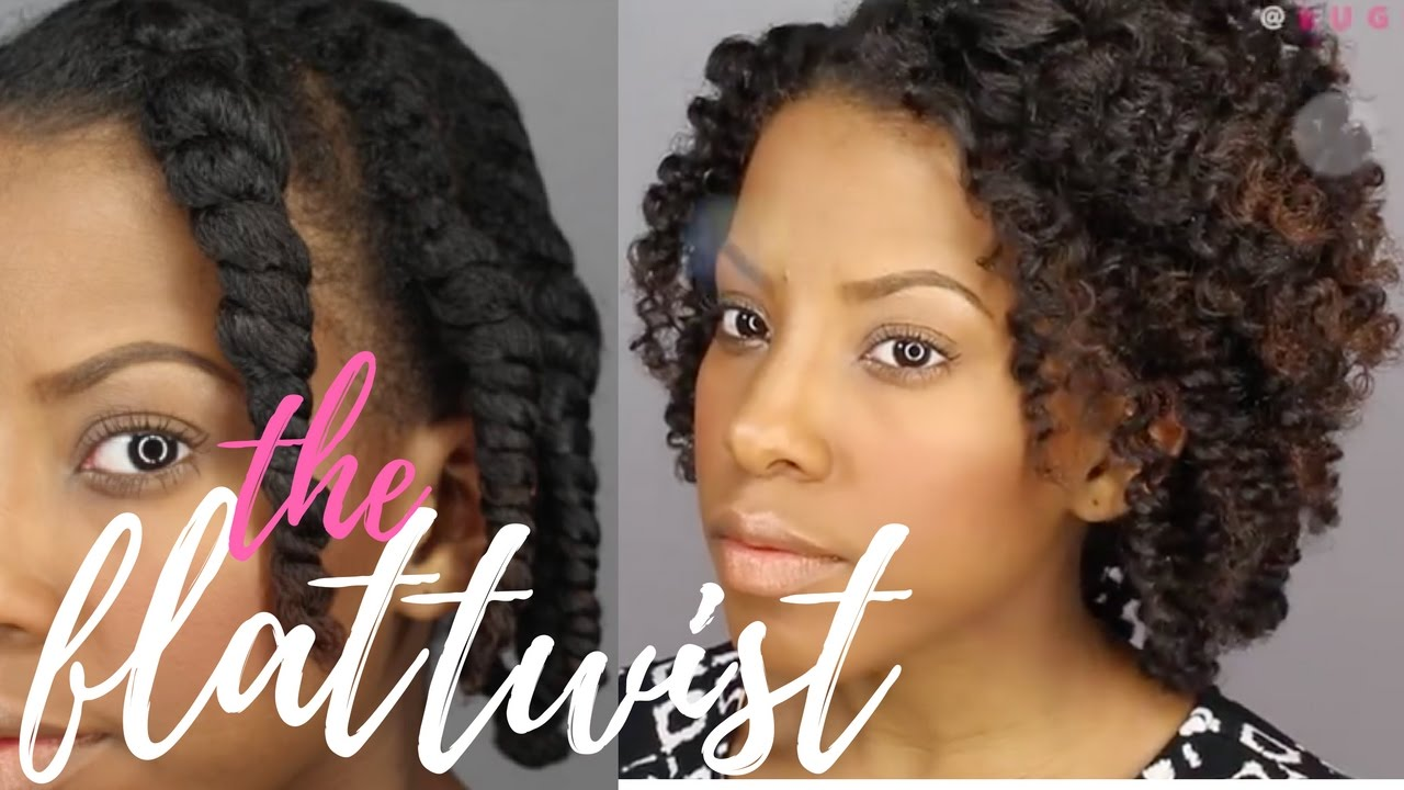 Flat Twist 101: Step by Step For Beginners! | Natural Hair Style | Eugenia Says