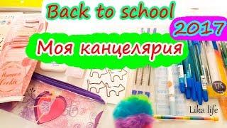 BACK TO SCHOOL Моя Канцелярия 2017 //НЕОБЫЧНЫЕ ПОКУПКИ//. Мой ящик с канцелярией. Часть 1