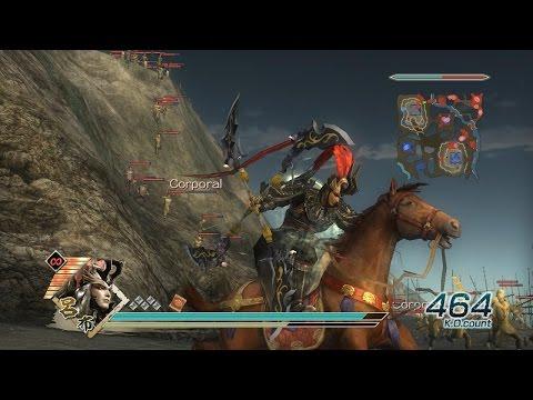 Dynasty Warriors 6 - Lu Bu Musou Mode - Chaos Difficulty - Battle of Mt. Ding Jun