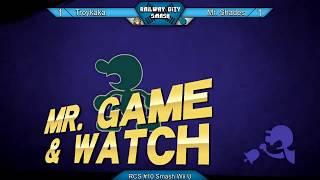 RCS #10 Smash Wii U - Troykaka (Mac, Zelda) vs Mr. Shades (Game & Watch)