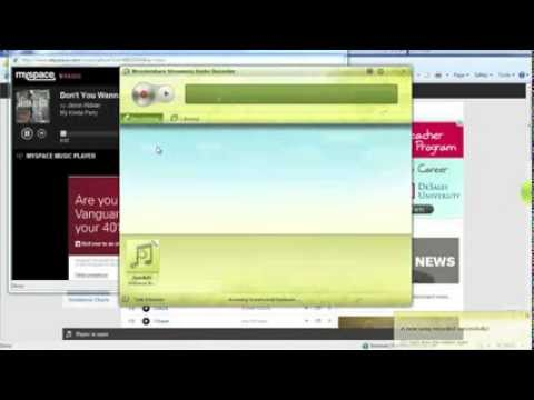 MySpace Music Download: How to download and record music on myspace