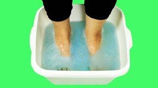 Trate doenças dos pés com estes três métodos incomuns