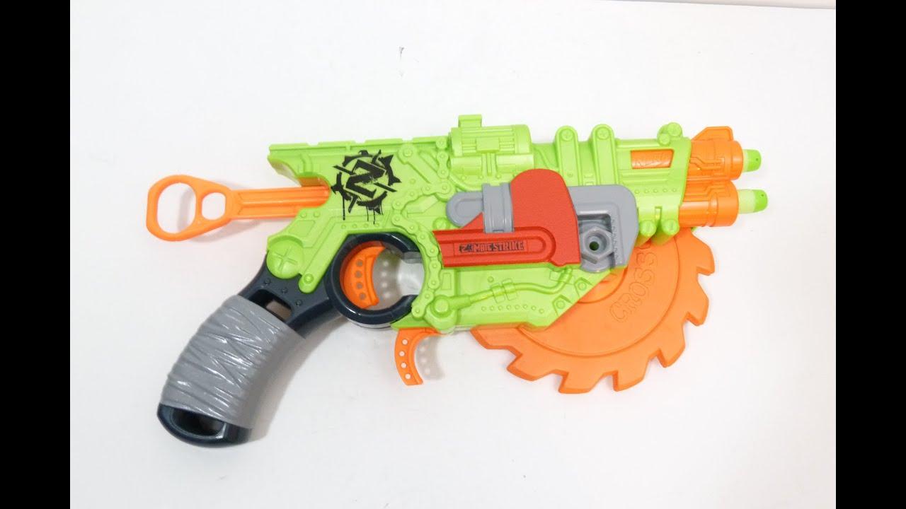 Flipfury Blaster / Переворот Бластер - Nerf Zombie Strike / Нерф .