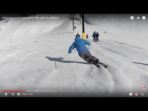 Improve your freeskiing - Alltracks Training Series - Skiing with flow