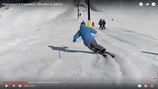 Improve your Freeskiing: Alltracks Academy
