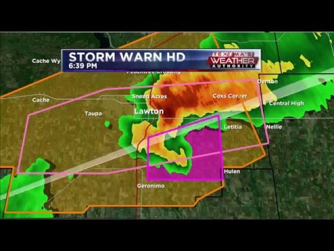 Severe Weather Coverage, Tornado Warning - May 8, 2016