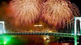 ★初開催★東京花火大祭2018 ~EDOMODE~ お台場 - The first Tokyo Fireworks Festival, Odaiba [1080/60p]