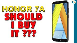 Honor 7A Smartphone Review