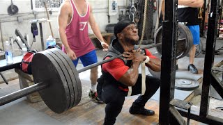 Raw & Intense Leg Footage At Metroflex With POG Fam