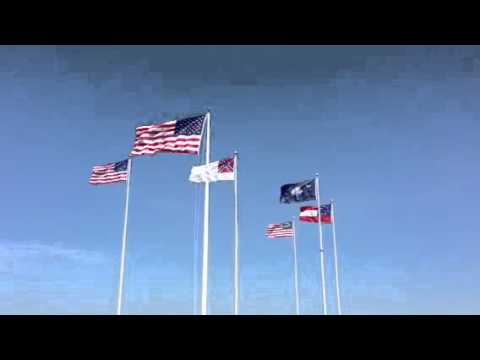 The Flags Of Fort Sumter