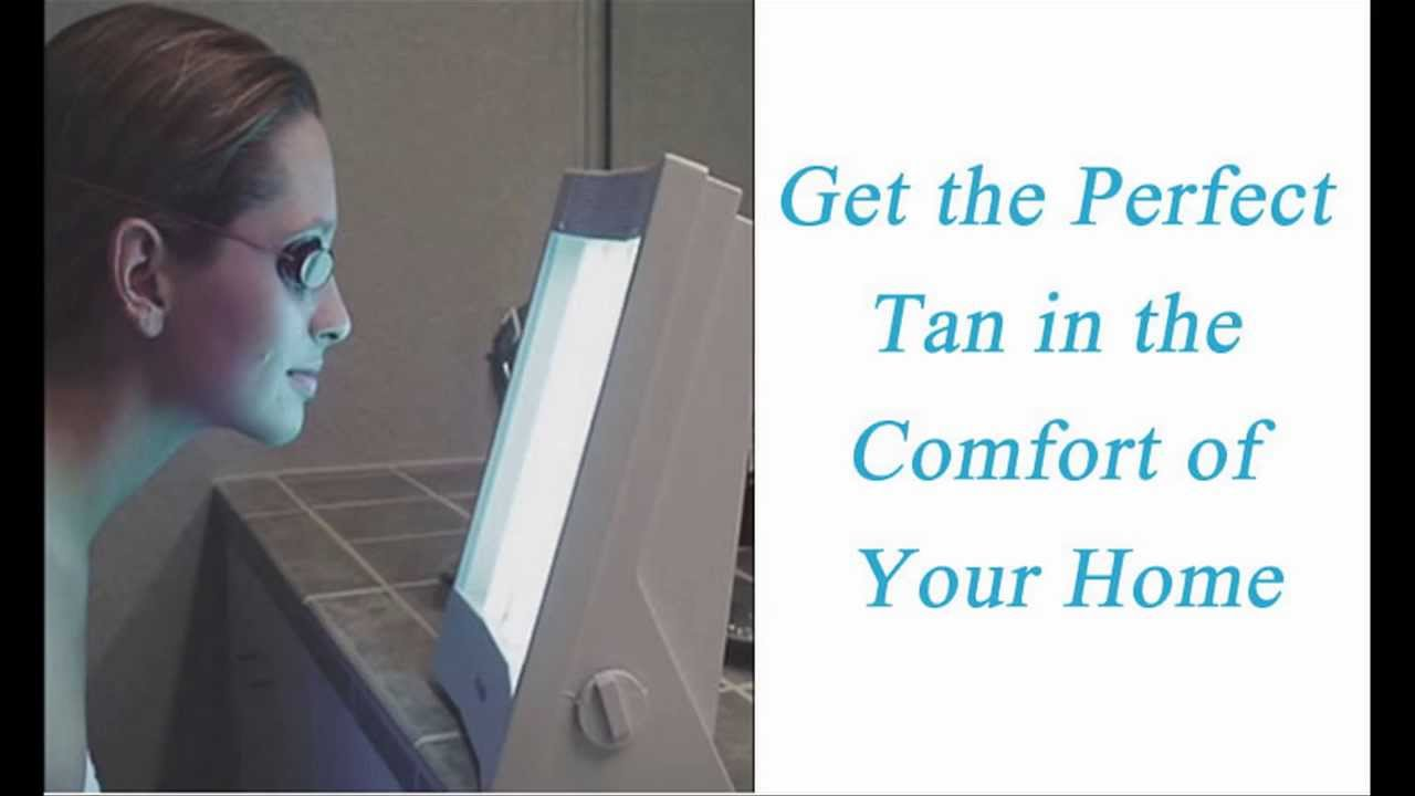 Face Tanning Lamp - Home Facial Tanner Machine - YouTube
