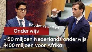 Baudet vs Jetten: -150 miljoen voor Nederlands onderwijs, +100 miljoen voor Afrika