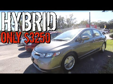 Here's A Honda Civic Hybrid ( Only $3250 ) Why Is This Car So Cheap?